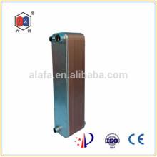 Jiangyin 6z паяный теплообменник 1000kw пластины