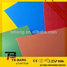Feuilles en aluminium couleur PE / PVDF pour décoration de cuisine