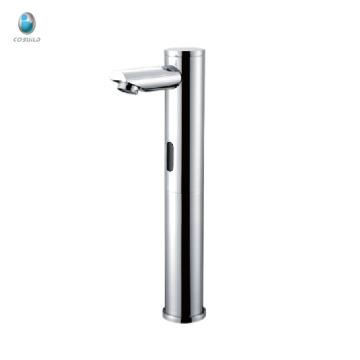 KS-09 moderne Luxus solide Messing Keramik Ventil Badezimmer 5 Jahre Qualitätsgarantie Spüle aktiviert Wasserhahn Sensor