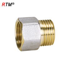 A 17 4 12 male brass fitting female thread nipple brass thread fittings