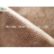 Tecido de camurça trama malogrado camurça tecido/75DX225D