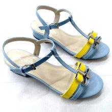 2016 nouveau style mode été dames chaussures à talons hauts sandales