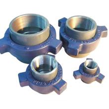Conexión de tubería de alta presión Unión de martillo roscada