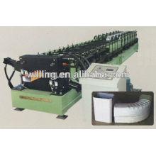 Machine de formage de rouleaux de tuyaux rectangulaires automatique rectangulaire