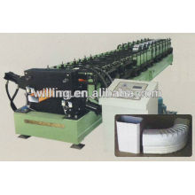 Máquina de moldagem de rolo de tubo retangular retangular automática