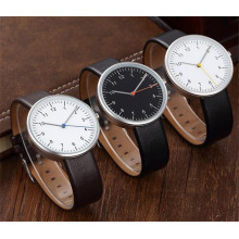 Luxury Watch Japan Movement Casual Business Montre Cuir Quartz Hommes Wholesale Factory