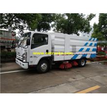 Camiones de limpieza de carreteras ISUZU 1500 galones