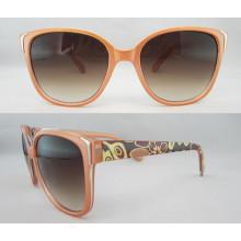 Dernières lunettes de soleil unisexe en plastique Fashion P25027