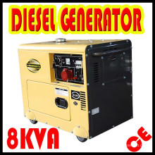 6kw/8kVA Air Cooled Diesel Silent Generator for Home Use! HOT SALE !