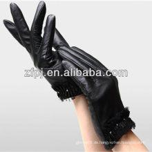Winter Biker Leder Hand Handschuhe für warm