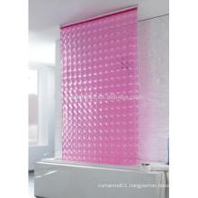 PVC 3D shower roller blind