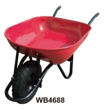 Pulverbeschichtete Schubkarre Wb4688 für Kolumbien Markt