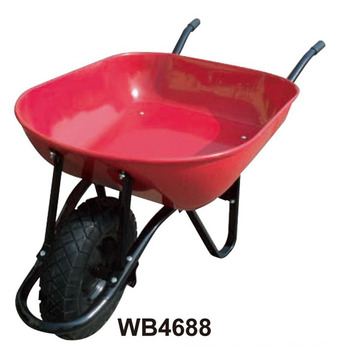 Powder Coated Wheelbarrow Wb4688 for Colombia Market