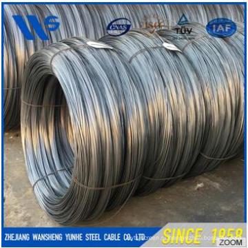 Горячая продажа пружинная стальная проволока с высокой растяжимостью 0,9 мм