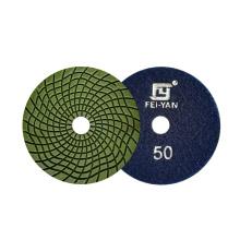 Resin bonded diamond polishing  pad used with wet grinding machine and polishing machine