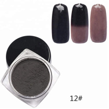 Pó de pigmento termocrômico para esmalte cosmético mudar de cor com mudança de temperatura