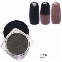 Термохромный пигментный порошок для косметического лака для ногтей меняет цвет при изменении температуры