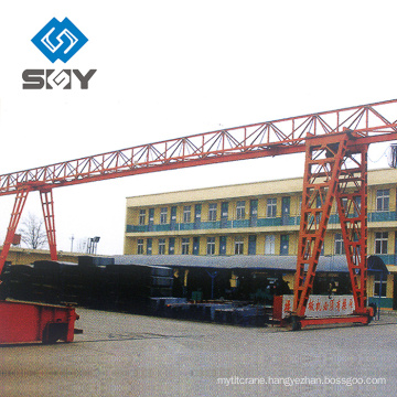 Newly outside usded 10 ton MH gantry crane for sale