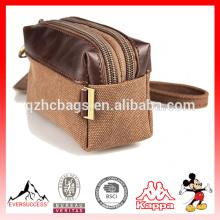 Bolsa de negocios unisex canvas Clutch Bag