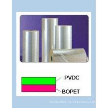PET-Folie mit einer Seite oder zwei Seiten mit PVDC beschichtet