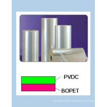 PET film with one side or two side coated with PVDC