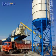 Apresentar mini planta dosadora móvel de concreto YHZS 40