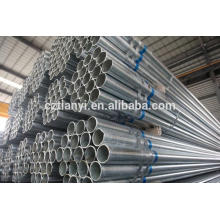 ASTM A53B Galvanized seamless carbon steel pipe