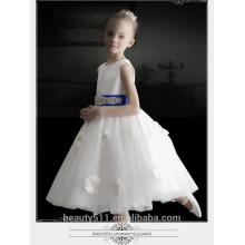 2017 China Supplier Wholesale Children Party Girls Flower Baby Maxi Sleeveless Dress ED697