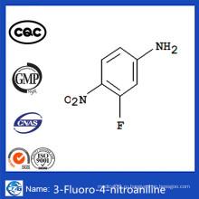 CAS 2369-13-3 Лучшие продаваемые фармацевтические промежуточные продукты 3-фтор-4-нитроанилин
