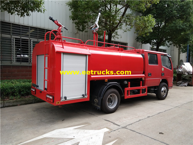 Emergency Fire Fighting Trucks