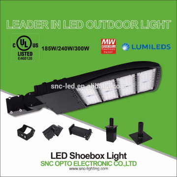 240 Watt LED Shoebox Light / LED Area Light with Motion Sensor, UL CUL Listed