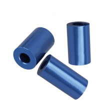 Fabrication Services Blue Case Anodizing/Sandblasting Aluminum cnc part