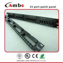 China El panel de remiendo del ángulo de la buena calidad del fabricante con de alta calidad aplica el tipo de Cat5e / 6 / 6A
