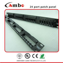 China Manufacturer Good Quality angle patch panel With High-Quality Apply Cat5e/6/6A Type