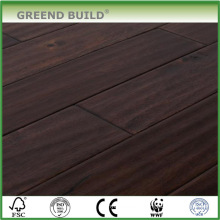 Brown Waved Acacia Hardwood Flooring