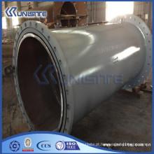 Tubo de aço de parede dupla soldado personalizado de alta pressão para draga (USC6-001)