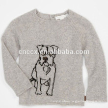15STC6812 puppy kids cashmere sweater