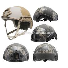 NIJ 3A OPS Core FAST military Aramid Casco antibalas de Kevlar / casco a prueba de balas / casco FAST balístico multicam