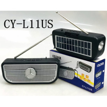 COLDYIR CY-L11US Portable Active Speaker With Usb Tf Music Player Solar Panel Wireless Top Seller Speaker