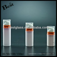 Круглая форма 30мл безвоздушного бутылки, ПММА/как/АБС/Сан/PP безвоздушная бутылка