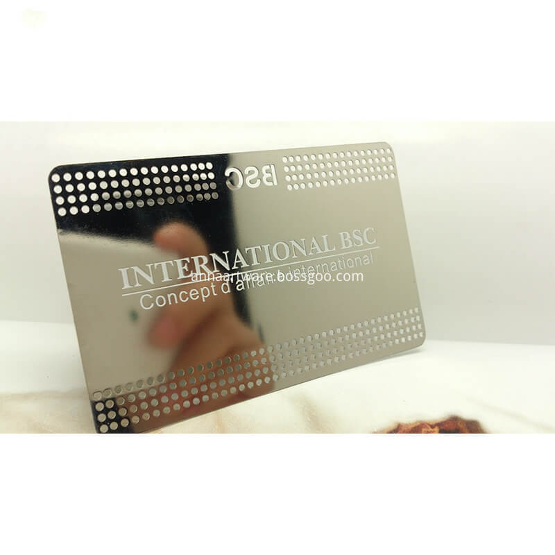 Stainless Steel Credit Card