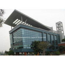 Energy-Saving Low-E Frameless Double Glass Curtain Wall