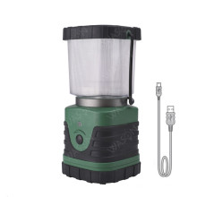 Lanterna de acampamento recarregável super brilhante de 4 modos de Dimmable