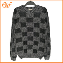 Fashion Stylish Cool Sweaters For Mens With Plaid Pattern