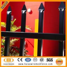 two horizontal security fence /Australia standard spear top security steel fence/corten steel fence