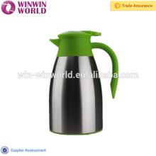 Venda quente Inquebrável Lidar Com Parede Dupla de Aço Inoxidável Cafeteira