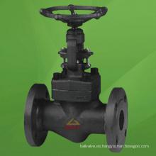Válvula de globo de brida de acero compacta (GAJ41H)