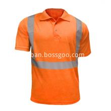 Work Wear T-Shirt Polo single color