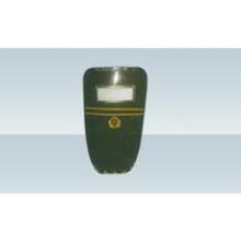 Армейский зеленый армированный стекловолокном пластиковый щит для защиты от беспорядков