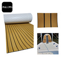 Light Teak + Black Color Marine EVA Foam Boat Flooring
